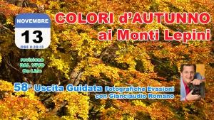 58° Uscita Guidata: Colori d'Autunno ai Monti Lepini