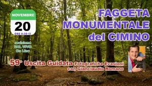 59° Uscita Guidata: Faggeta dei Monti Cimini